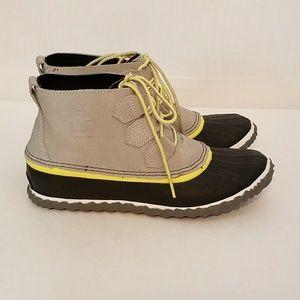 Sorel Out n About CVS Waterproof Canvas Rain Boot